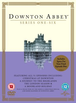 Downton Abbey - Season 1 - 6 & Christmas Specials - DVD