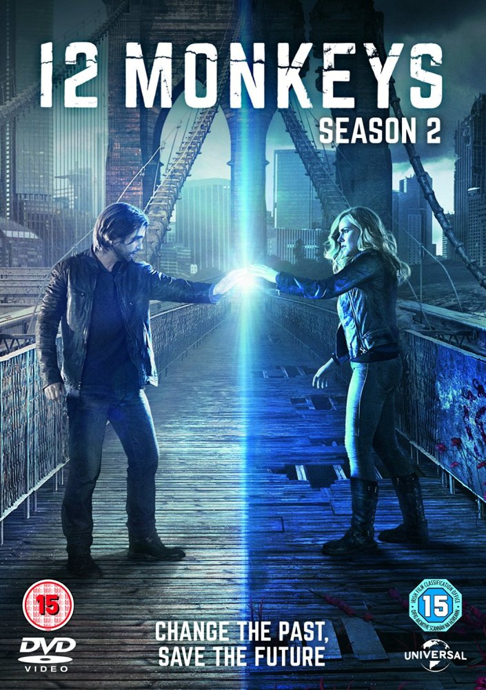 12 Monkeys - Season 2 - DVD Region 2 (Europe)