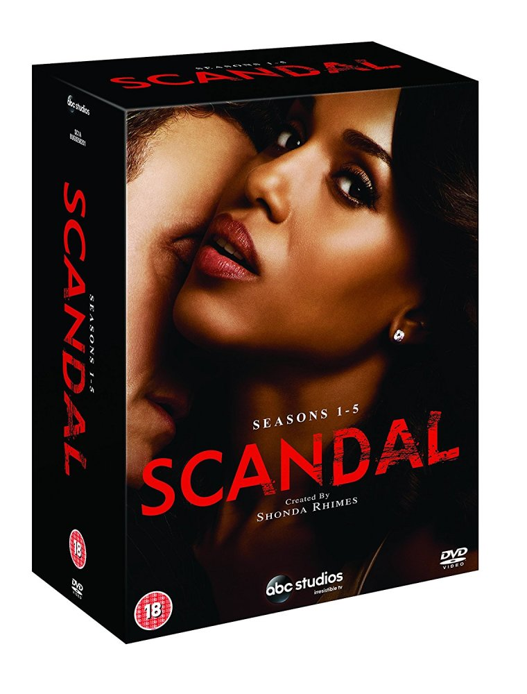 Scandal - Season 1 to 5 - DVD-Box-Set