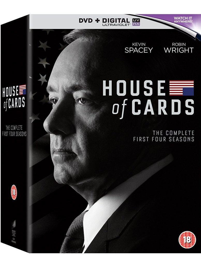 House Of Cards - Season 1 to 4 - DVD-Box-Set