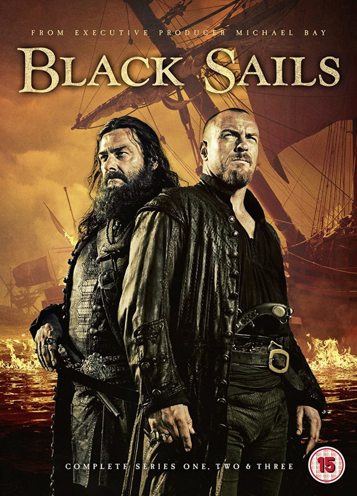 Black Sails - Season 1 to 3 - DVD-Box-Set