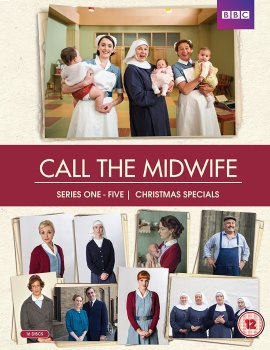 Call The Midwife - Season 1 to 5 & Christmas Specials - DVD-Box-Set
