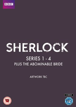 Sherlock - Series 1- 4 & Abominable Bride - DVD Box Set
