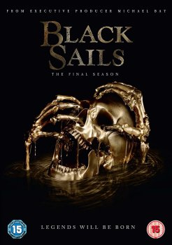 Black Sails - Season 4 - The Final Season - DVD