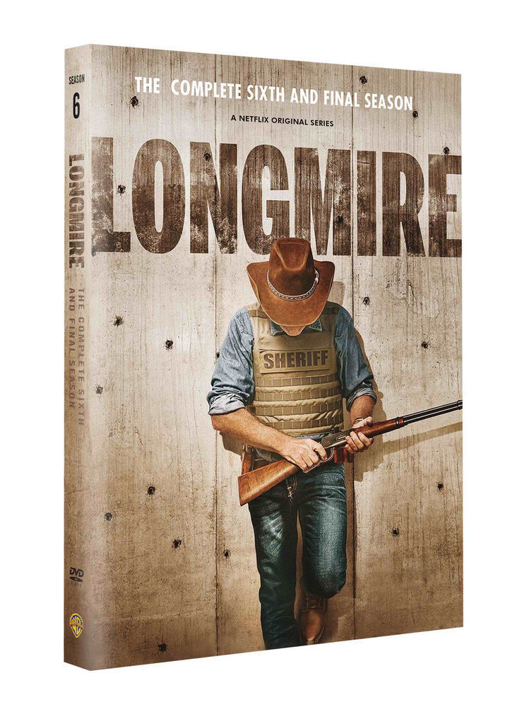 Longmire - Season 6 - The Final Season - DVD