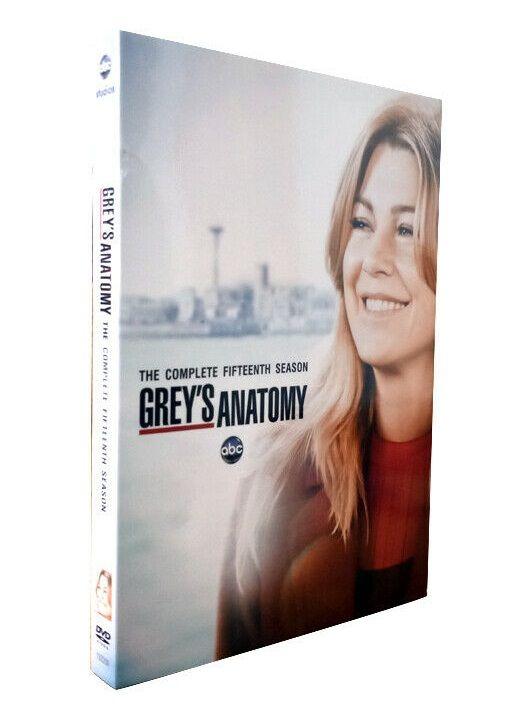 Gryes Anatomy Season 15 - DVD