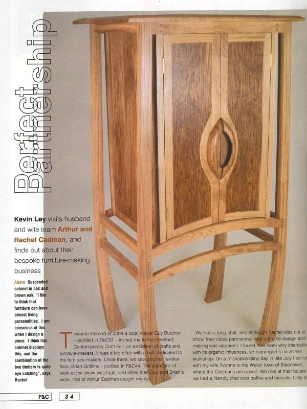 ... Furniture U0026 Cabinet Making Magazine   Kevin Ley Article ...