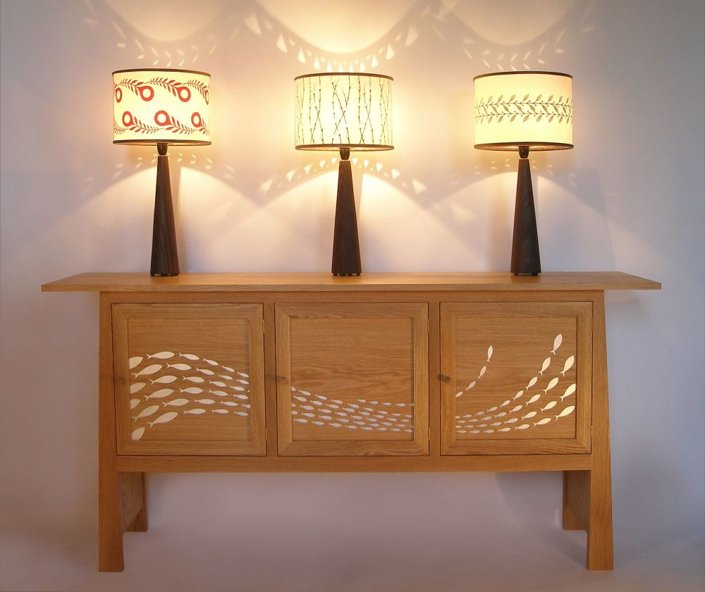 3 lamps on flow sideboard (2)