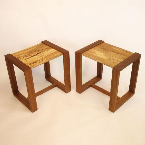 'Cubist' sofa table