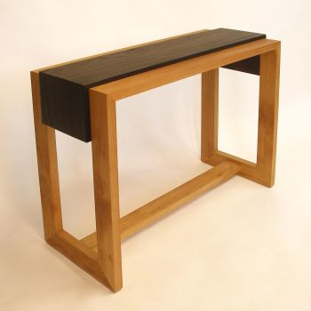 Scorched side table