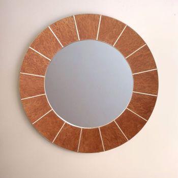 Burr vavona mirror