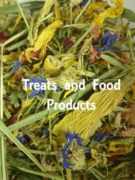 treats and food products title page
