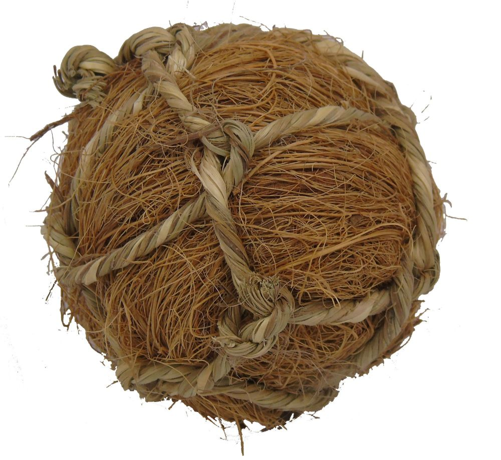 Coir Balls - chew toy for chinchillas