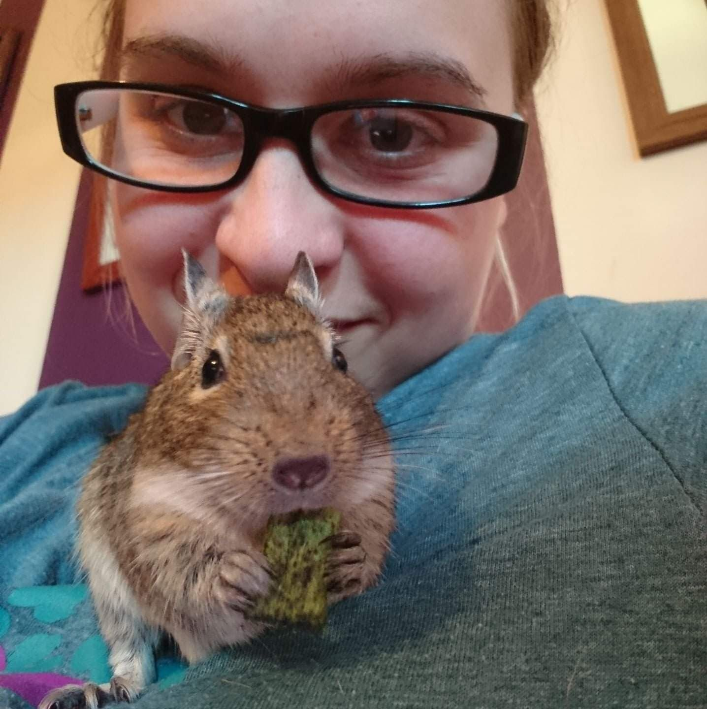 Emma and Degu