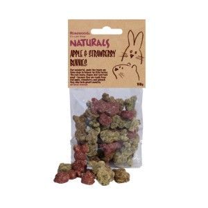 Rosewood Naturals Apple and Strawberry Bunnies