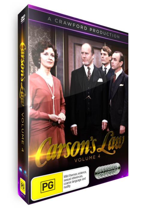<!-- 004 -->Carson's Law - Volume 04