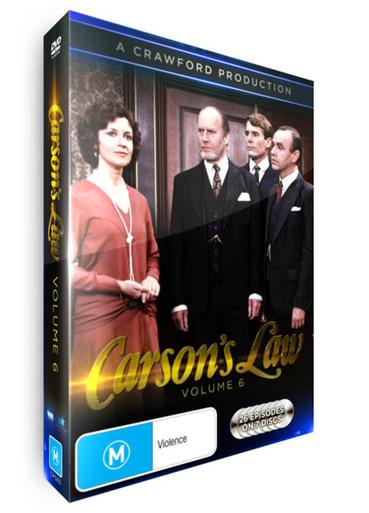 <!-- 006 -->Carson's Law - Volume 06