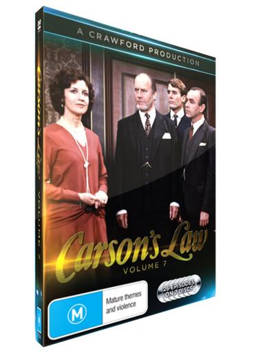 <!-- 007 -->Carson's Law - Volume 07