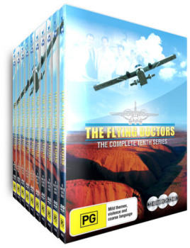 The Flying Doctors - Complete Series  + Bonus The Flying Doctors Mini Series