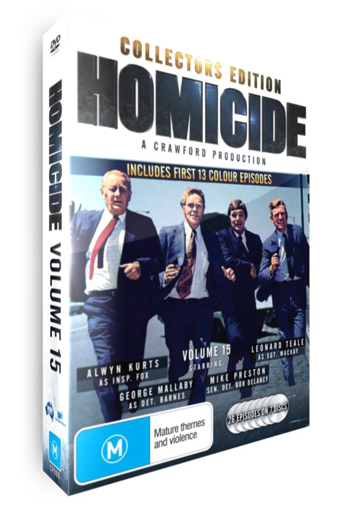 <!-- 015-->Homicide - Volume 15