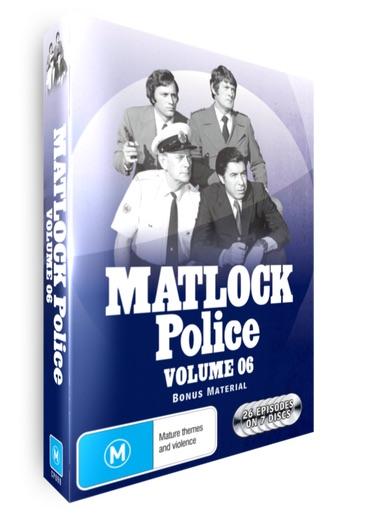 <!-- 006 -->Matlock Police - Volume 6