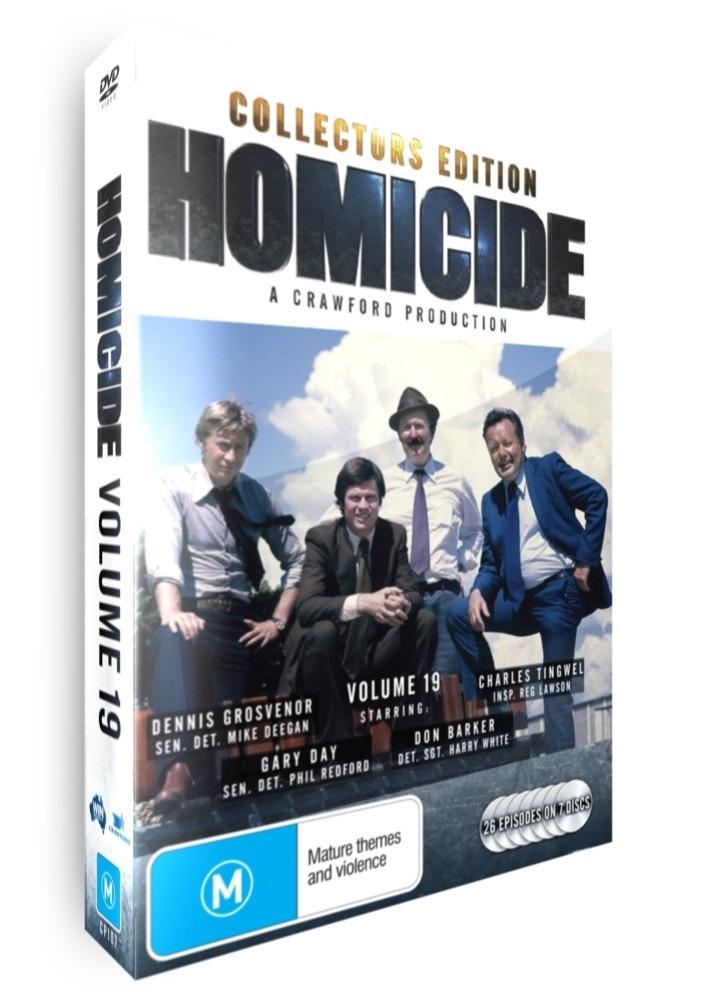 <!-- 019-->Homicide - Volume 19