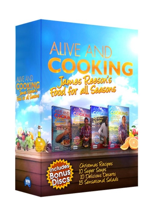 <!-- 005 -->Alive And Cooking - James Reeson's Food For All Seasons