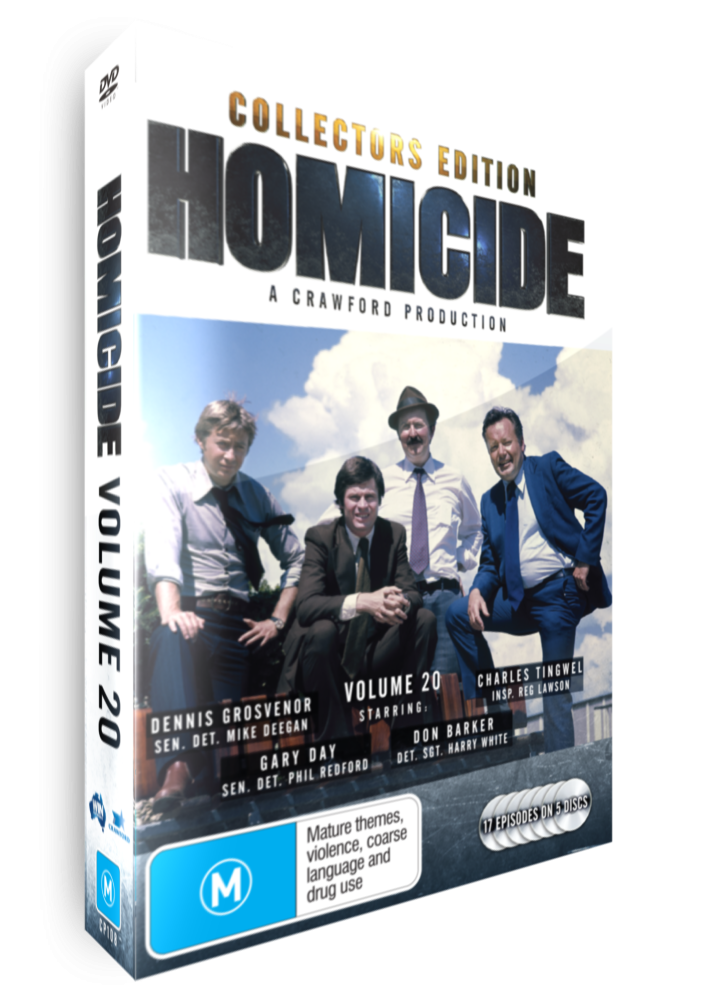 <!-- 020-->Homicide - Volume 20