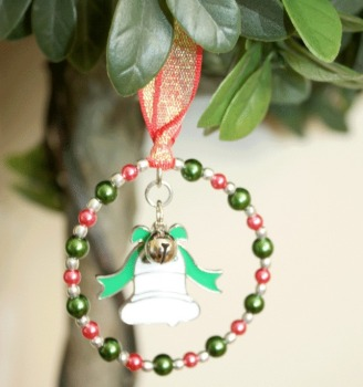 Christmas Tree Decoration with Bell 07