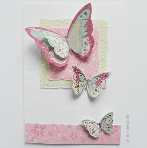 Butterflies in Pink