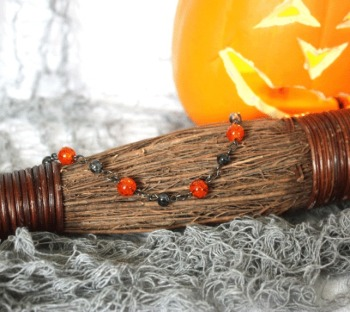 Halloween Orange Bracelet
