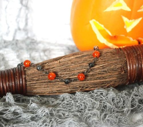 Halloween Orange Bracelet