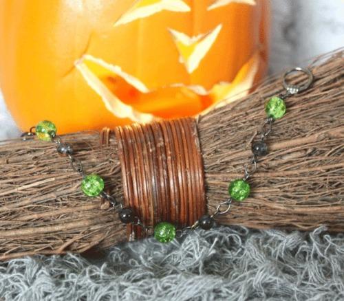 Halloween Green Bracelet