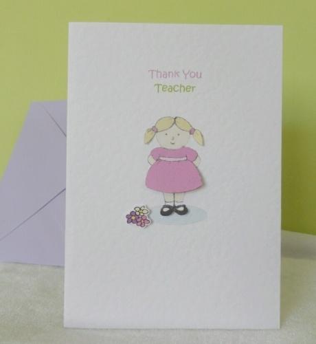 Thank You Teacher - Little Meg