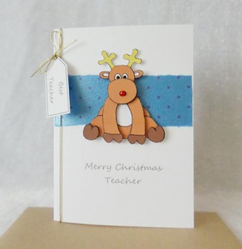 A6 Christmas Reindeer