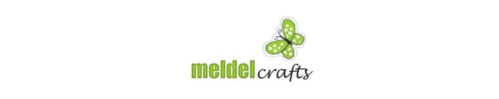 Meldel Crafts, site logo.