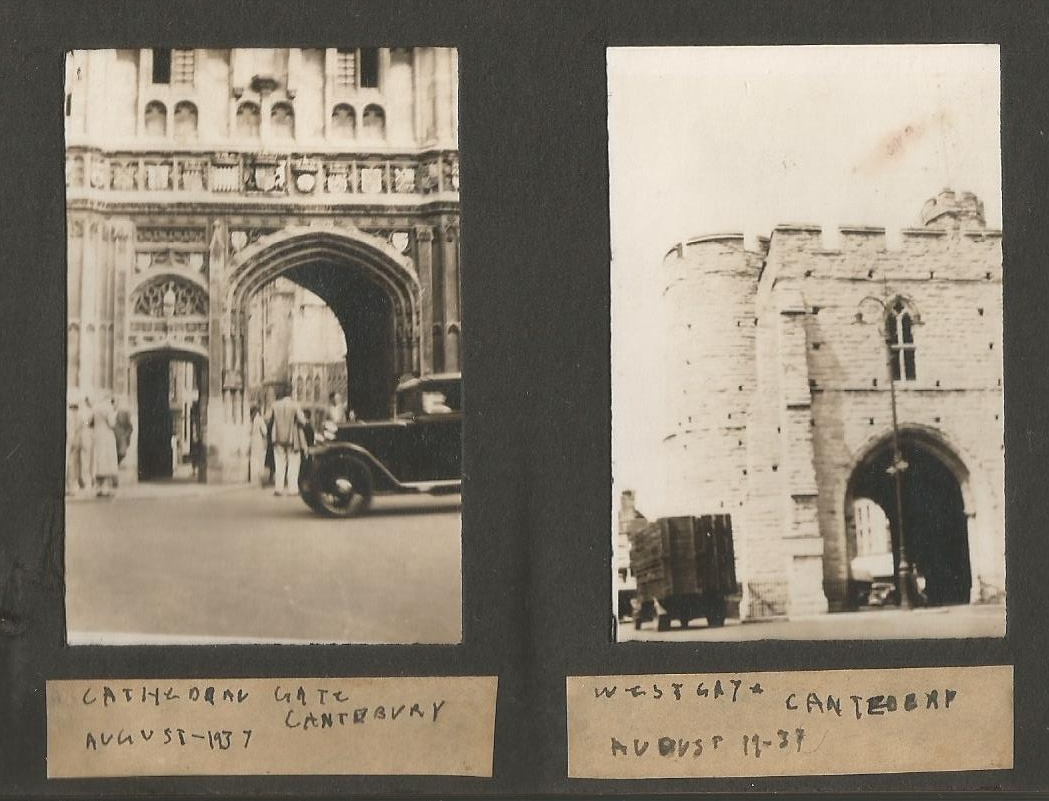 canterbury cathedral gate august 190001