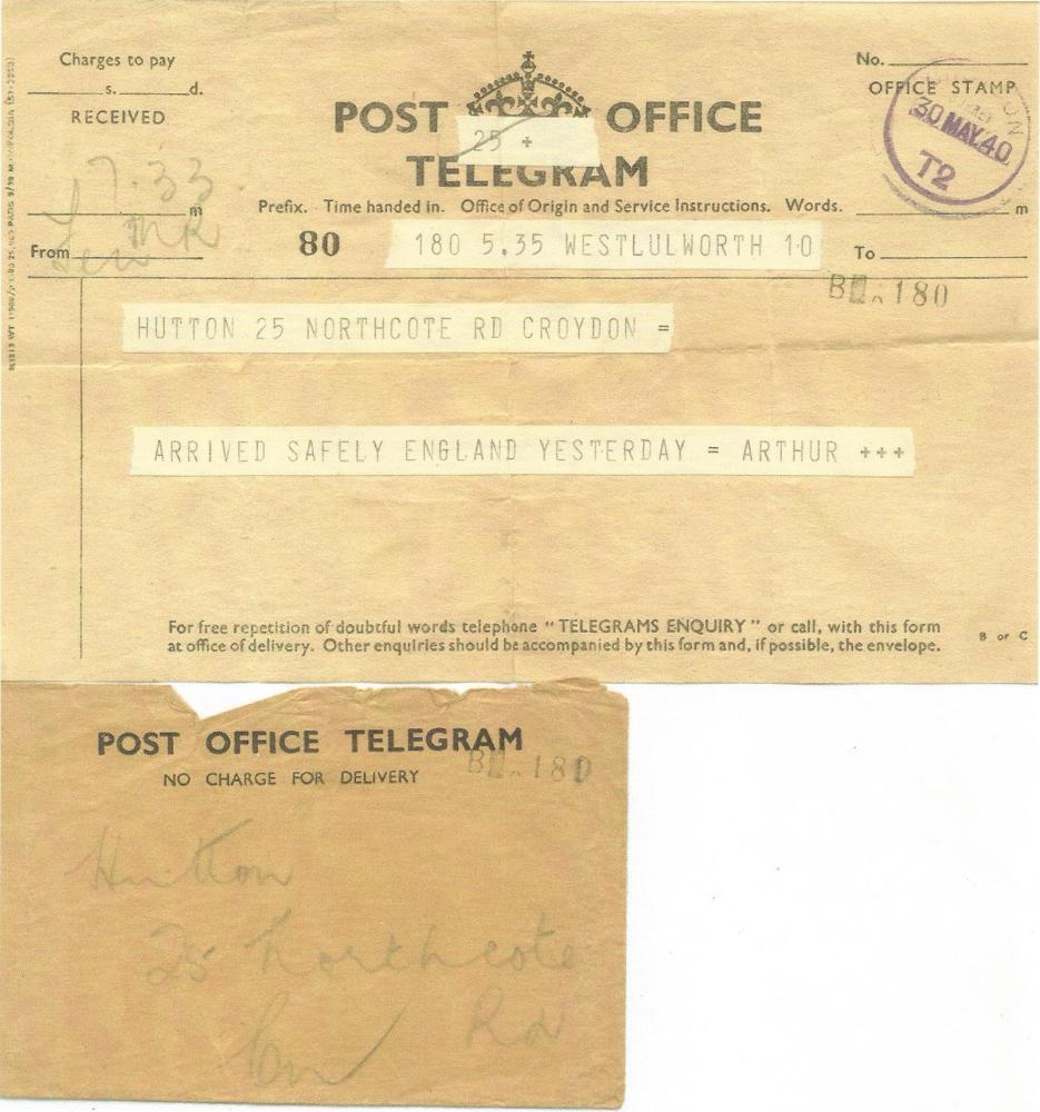 arthurs telegram