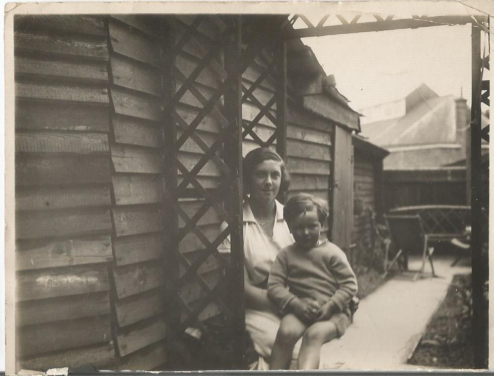 elsie and dad 1931