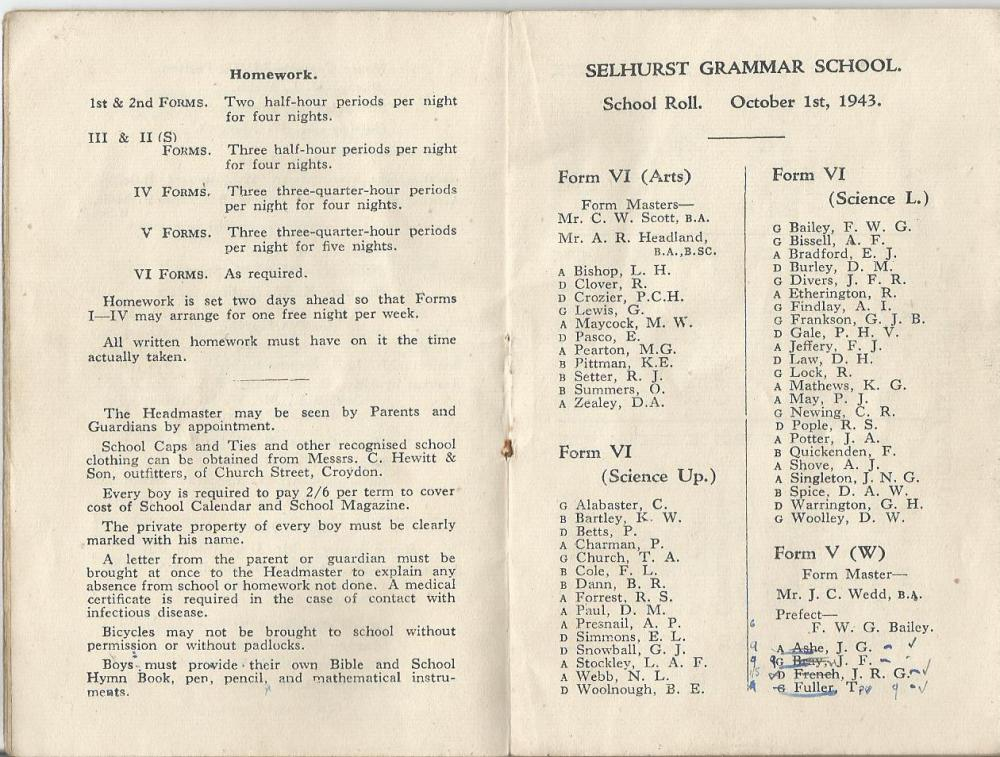 calendar 1943-4 4
