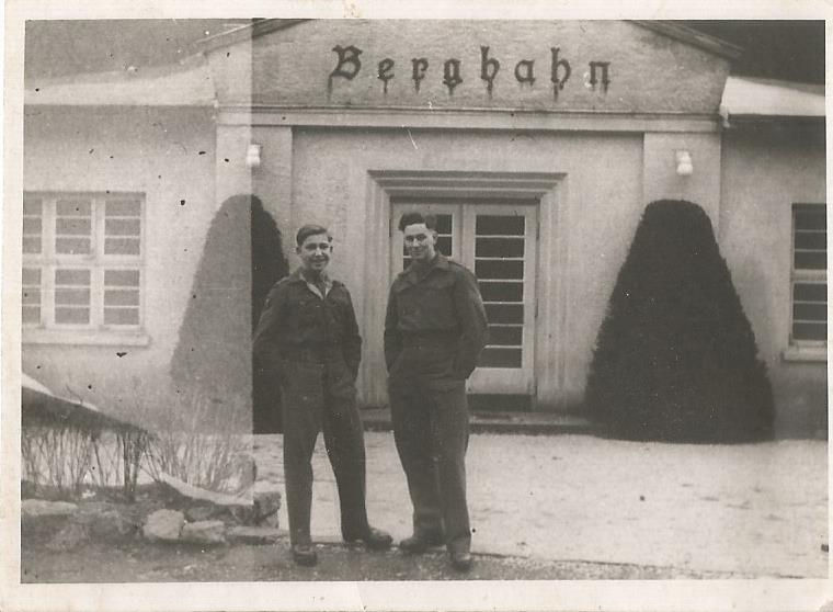 dad and sgt cash bad harzberg jan 1948