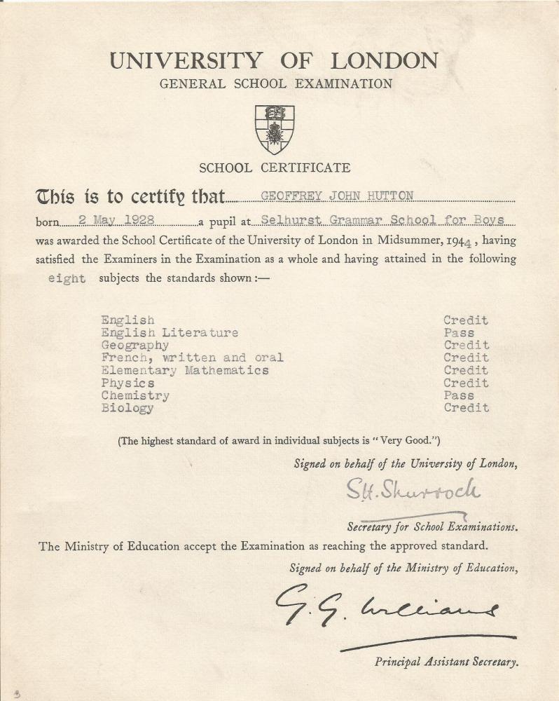 general school exams 19440002