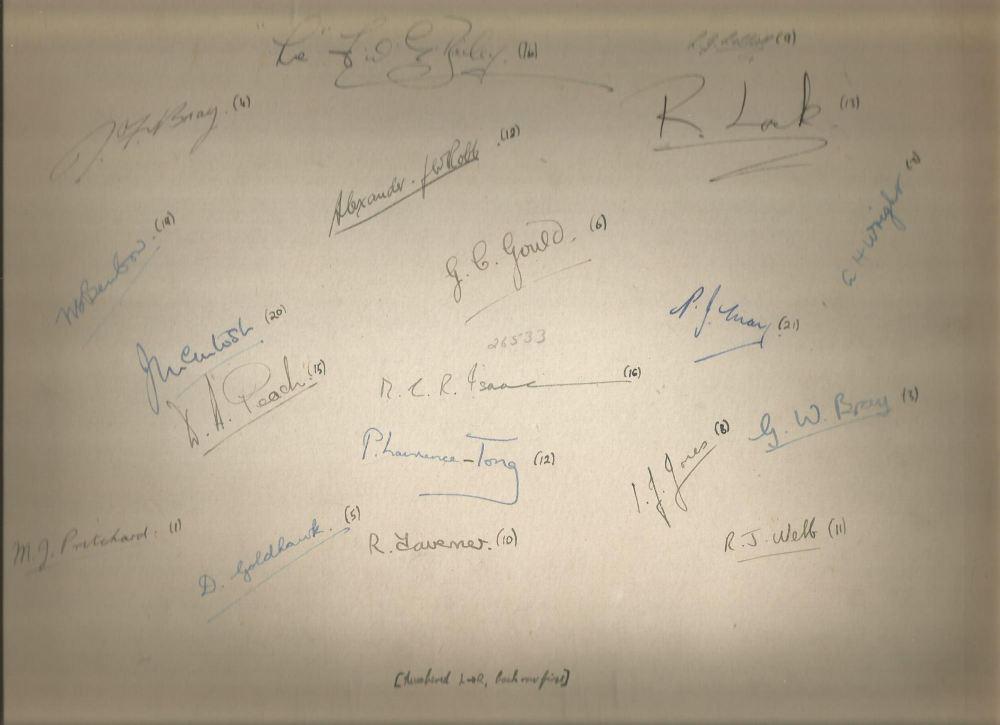 selhurst prefects 1945-6 back