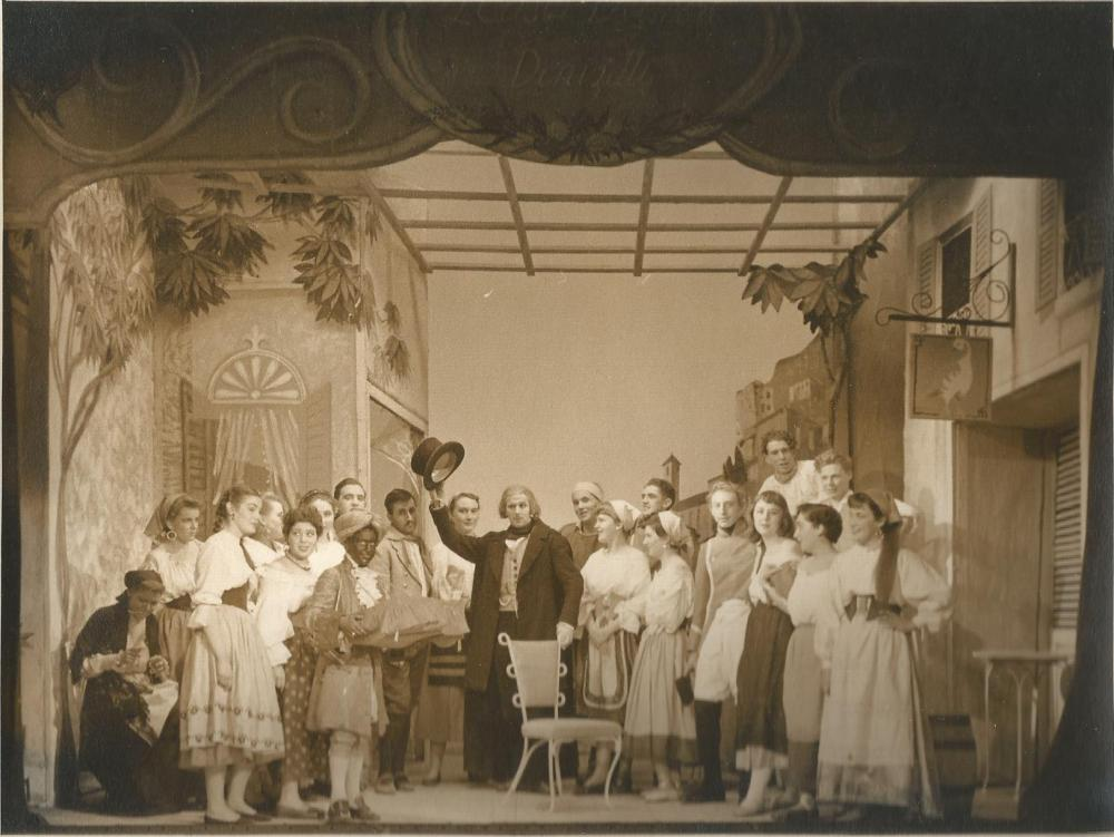 ucl operatic society lelisir damore 1954
