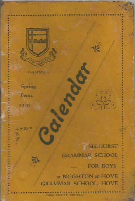 calendar spring 1940