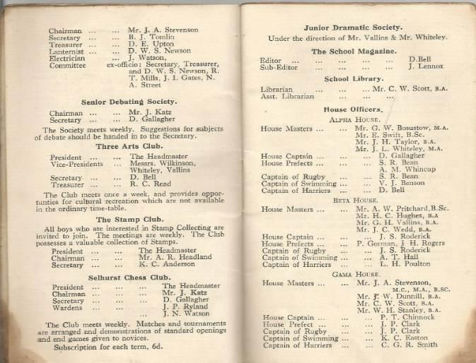 calendar spring 1940. 3
