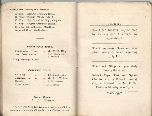 calendar summer 1940.5