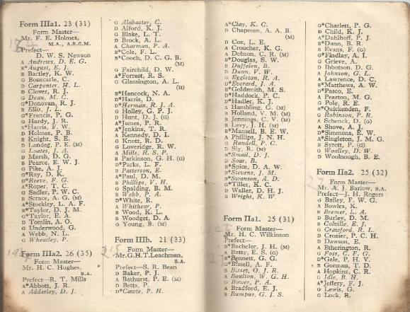 calendar spring 1940. 11