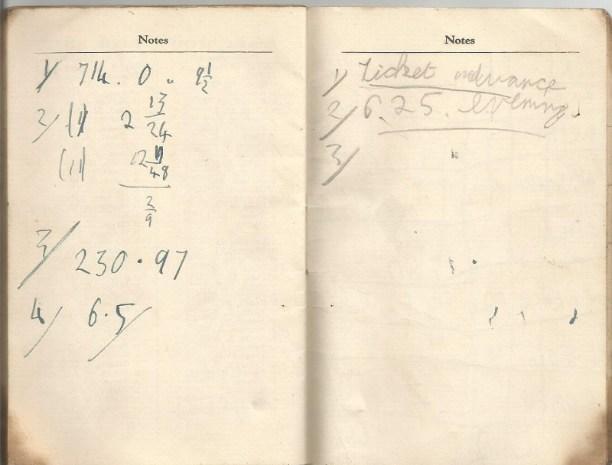 calendar spring 1940. 13