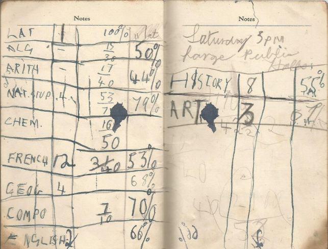 calendar spring 1940. 14